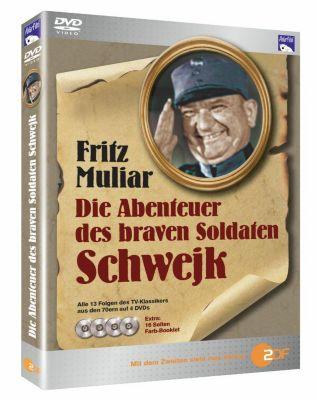 Die Abenteuer des braven Soldaten Schwejk, DVD, Jaroslav Hasek