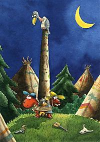 Die Abenteuer des kleinen Drachen Kokosnuss Band 16: Der kleine Drache Kokosnuss bei den Indianern - Produktdetailbild 6
