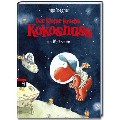 Die Abenteuer des kleinen Drachen Kokosnuss Band 17: Der kleine Drache Kokosnuss im Weltraum - Ingo Siegner |
