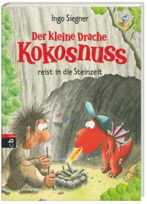 Die Abenteuer des kleinen Drachen Kokosnuss Band 18: Der kleine Drache Kokosnuss reist in die Steinzeit, Ingo Siegner