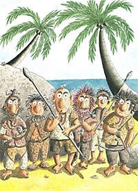Die Abenteuer des kleinen Drachen Kokosnuss Band 18: Der kleine Drache Kokosnuss reist in die Steinzeit - Produktdetailbild 7