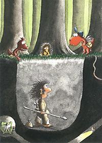 Die Abenteuer des kleinen Drachen Kokosnuss Band 18: Der kleine Drache Kokosnuss reist in die Steinzeit - Produktdetailbild 2