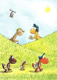 Die Abenteuer des kleinen Drachen Kokosnuss Band 18: Der kleine Drache Kokosnuss reist in die Steinzeit - Produktdetailbild 1
