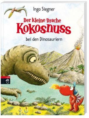 Die Abenteuer des kleinen Drachen Kokosnuss Band 20: Der kleine Drache Kokosnuss bei den Dinosauriern - Ingo Siegner |