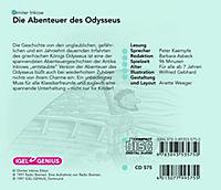 Die Abenteuer des Odysseus, 2 CD-Audio - Produktdetailbild 1