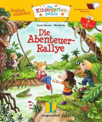 Die Abenteuer-Rallye, m. Audio-CD, Susan Niessen, Elke Broska