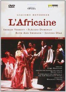 Die Afrikanerin, Arena, Verrett, Domingo