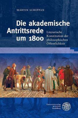 Die akademische Antrittsrede um 1800, Martin Schippan