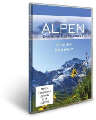 Die Alpen - Italien & Schweiz, 1 DVD, Peter Bardehle, Lisa Eder-Held, Sebastian Lindemann, Klaus Steindl