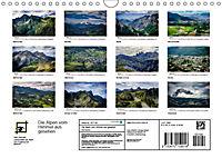 Die Alpen vom Himmel aus gesehen (Wandkalender 2019 DIN A4 quer) - Produktdetailbild 13