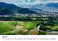 Die Alpen vom Himmel aus gesehen (Wandkalender 2019 DIN A3 quer) - Produktdetailbild 4