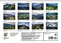 Die Alpen vom Himmel aus gesehen (Wandkalender 2019 DIN A3 quer) - Produktdetailbild 13