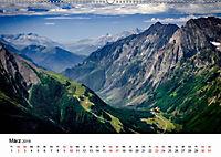 Die Alpen vom Himmel aus gesehen (Wandkalender 2019 DIN A2 quer) - Produktdetailbild 3