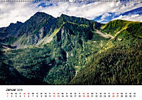 Die Alpen vom Himmel aus gesehen (Wandkalender 2019 DIN A2 quer) - Produktdetailbild 1