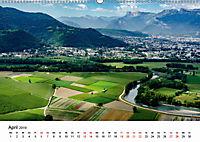 Die Alpen vom Himmel aus gesehen (Wandkalender 2019 DIN A2 quer) - Produktdetailbild 4