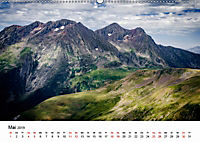 Die Alpen vom Himmel aus gesehen (Wandkalender 2019 DIN A2 quer) - Produktdetailbild 5