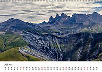 Die Alpen vom Himmel aus gesehen (Wandkalender 2019 DIN A2 quer) - Produktdetailbild 7