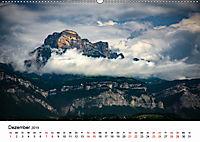 Die Alpen vom Himmel aus gesehen (Wandkalender 2019 DIN A2 quer) - Produktdetailbild 12