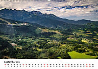Die Alpen vom Himmel aus gesehen (Wandkalender 2019 DIN A2 quer) - Produktdetailbild 9