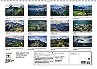 Die Alpen vom Himmel aus gesehen (Wandkalender 2019 DIN A2 quer) - Produktdetailbild 13
