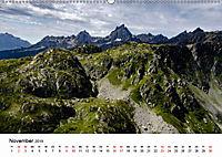 Die Alpen vom Himmel aus gesehen (Wandkalender 2019 DIN A2 quer) - Produktdetailbild 11