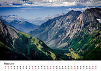 Die Alpen vom Himmel aus gesehen (Wandkalender 2019 DIN A3 quer) - Produktdetailbild 3