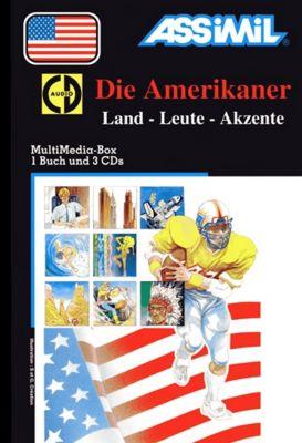 Die Amerikaner, m. 3 CD-Audio, Brigitte Balster