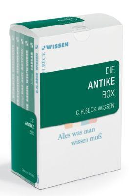 Die Antike Box, 6 Bde., Klaus Brinkmann, Detlef Lotze, Hermann A. Schlögl, Kai Brodersen, Martin Jehne