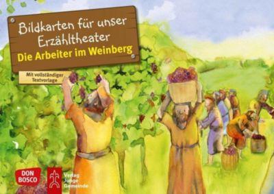 Die Arbeiter im Weinberg. Kamishibai Bildkartenset - Frank Hartmann |