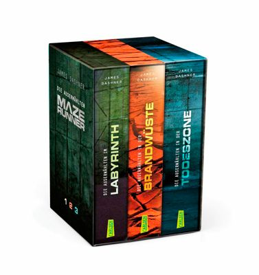 Die Auserwählten - Maze Runner, 3 Bde., James Dashner