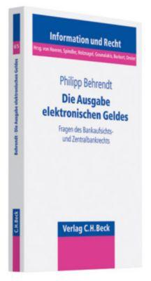 Die Ausgabe elektronischen Geldes, Philipp Behrendt