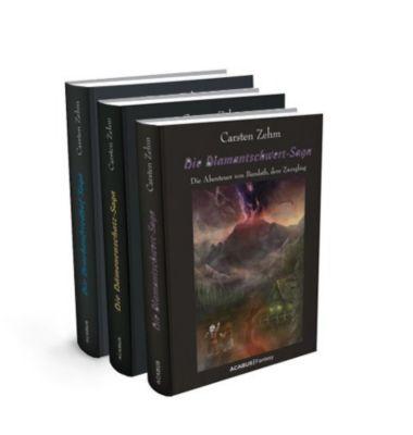 Die Bandath-Saga. Gesamtausgabe der Trilogie Diamantschwert-Saga, Dämonenschatz-Saga und Drachenfriedhof-Saga, Carsten Zehm