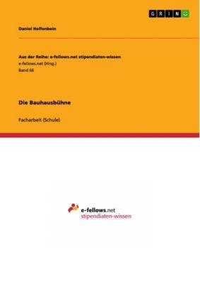 Die Bauhausbühne, Daniel Helfenbein