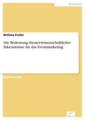 Die Bedeutung theaterwissenschaftlicher Erkenntnisse für das Eventmarketing, Bettina Frohn