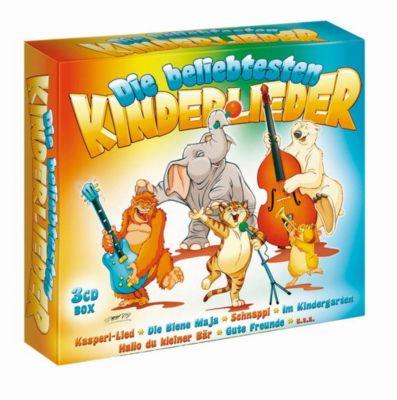 Die beliebtesten Kinderlieder -3CD, Diverse Interpreten