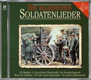 Die Beliebtesten Soldatenlieder, Various