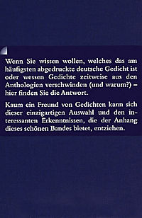 Die berühmtesten deutschen Gedichte - Produktdetailbild 1
