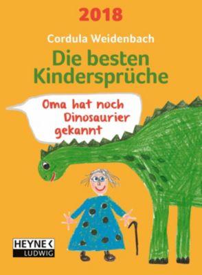 Die besten Kindersprüche 2018, Cordula Weidenbach