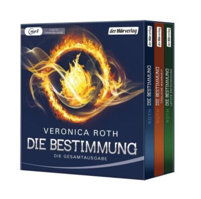 Die Bestimmung. Die Gesamtausgabe, 3 MP3-CDs, Veronica Roth