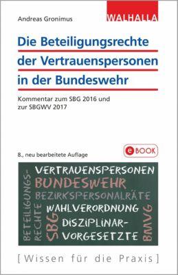 Die Beteiligungsrechte der Vertrauenspersonen in der Bundeswehr, Andreas Gronimus