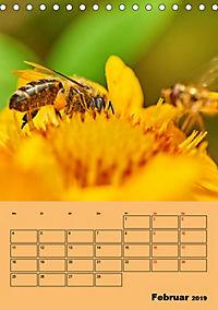Die Biene und die Farbe gelb (Tischkalender 2019 DIN A5 hoch) - Produktdetailbild 2