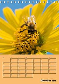 Die Biene und die Farbe gelb (Tischkalender 2019 DIN A5 hoch) - Produktdetailbild 10