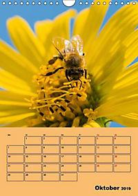 Die Biene und die Farbe gelb (Wandkalender 2019 DIN A4 hoch) - Produktdetailbild 6