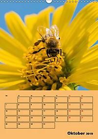 Die Biene und die Farbe gelb (Wandkalender 2019 DIN A3 hoch) - Produktdetailbild 10