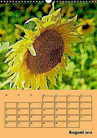 Die Biene und die Farbe gelb (Wandkalender 2019 DIN A3 hoch) - Produktdetailbild 8