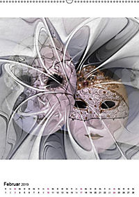 Die Bilder im Fraktal (Wandkalender 2019 DIN A2 hoch) - Produktdetailbild 2