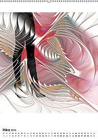 Die Bilder im Fraktal (Wandkalender 2019 DIN A2 hoch) - Produktdetailbild 5