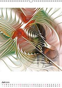 Die Bilder im Fraktal (Wandkalender 2019 DIN A3 hoch) - Produktdetailbild 6