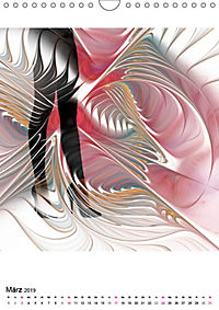 Die Bilder im Fraktal (Wandkalender 2019 DIN A4 hoch) - Produktdetailbild 3
