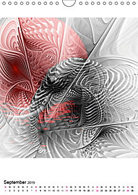 Die Bilder im Fraktal (Wandkalender 2019 DIN A4 hoch) - Produktdetailbild 9